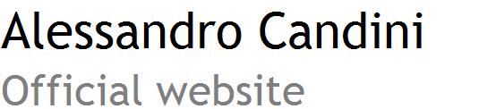 Alessandro Candini